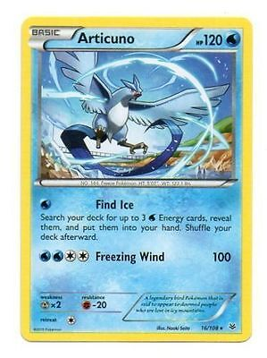 Articuno 16/108 - Xy Roaring Skies Pokemon Rare Card - New Mint