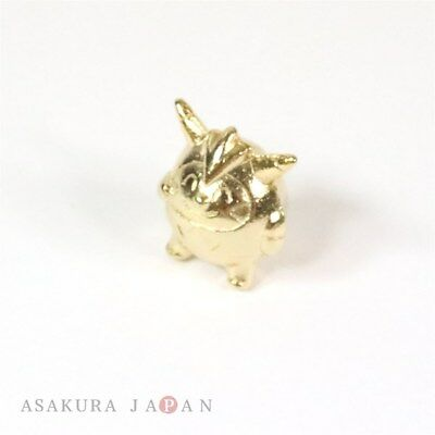 Pokemon XY&Z 2016 Metal Collection SP Quilladin Figure (Gold Version) Japan