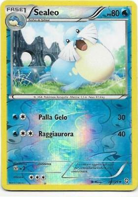 Pokemon Sealeo 30/124 Dragons Exalted Non Comune Reverse Holo The Real_deal Shop