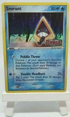 Pokemon Snorunt Reverse Holo Ex Power Keepers 64/108 Stamped Mint