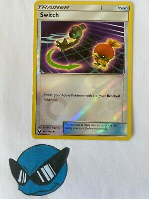 Pokemon TCG : Switch 147/168 Reverse Holo Celestial Storm