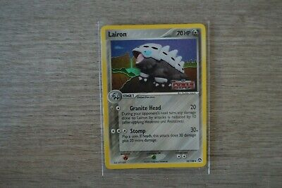 Pokemon Power Keepers Reverse Holo Lairon - Very good to Excellent condition