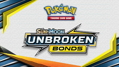 Pokemon Trading Cards - Sun & Moon Series: Unbroken Bonds (2019) 1/214-234/214