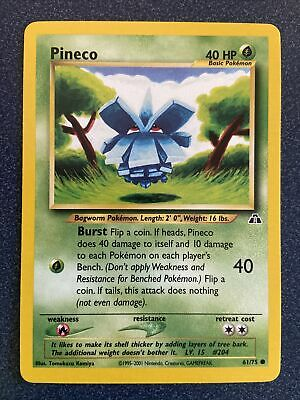 PINECO - Neo Discovery Set - 61/75 - Common - Pokemon Card - Unlimited - NM