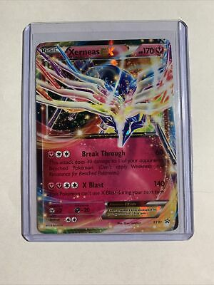2014 Pokemon XY Black Star Promo Xerneas EX XY07