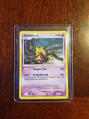 2009 Pokemon Platinum Set Holo Rare Giratina 28/127 - NM