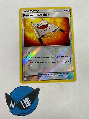 Pokemon TCG : Rescue Stretcher 130/145 Reverse Holo Guardians Rising