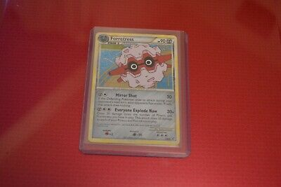 Pokemon HS Undaunted Forretress Holo Excellent to Near Mint condition