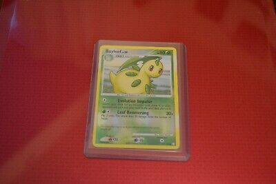 Pokemon Mysterious Treasures Bayleef Reverse Excellent to Near Mint condition