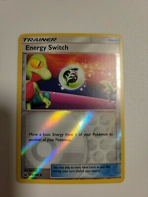 Energy Switch 129 /168 Pokemon - SM - Celestial Storm - Reverse Holo - Mint