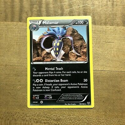 Malamar 76/146 rare XY Pokemon card