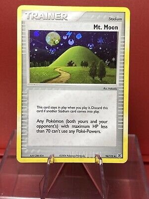 Mt. Moon 94/112   EX - FireRed & LeafGreen   Reverse Holo   Vintage Pokemon NM