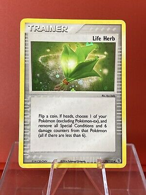 Life Herb 93/112 | EX FireRed & LeafGreen | Reverse Holo | Vintage Pokemon