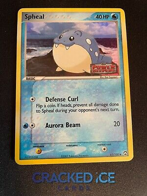 Spheal 65/108 EX Power Keepers Reverse Holo Common Pokemon Card NM