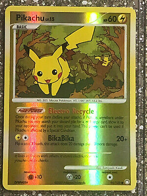 Pokemon Pikachu Reverse Holo Card 94 From Mysterious Treasures