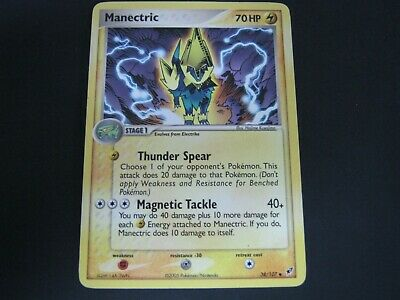 Pokemon Card Ex Deoxys Number 38 MANECTRIC