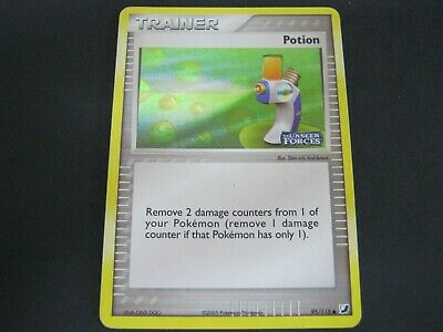 Pokemon Card Ex Unseen Forces Holo POTION Number 95