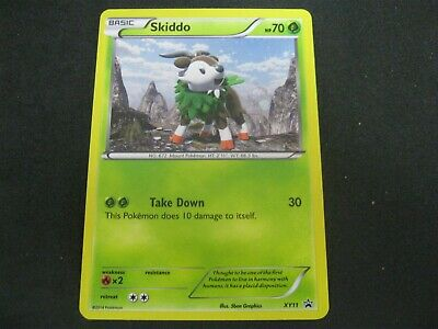 Pokemon Card (2) Furious Fists Promo Number XY11 SKIDDO