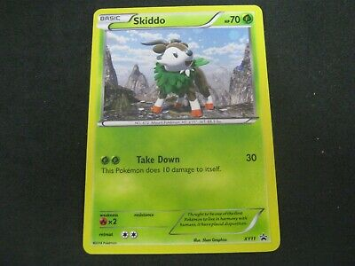 Pokemon Card (3) Furious Fists Promo Number XY11 SKIDDO