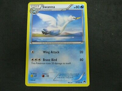 Pokemon Card BREAKpoint Number 37 SWANNA