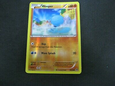Pokemon Card (1) Ancient Origins Holo Number 38 WOOPER