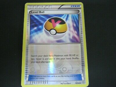 Pokemon Card Ancient Origins Holo Number 76 LEVEL BALL