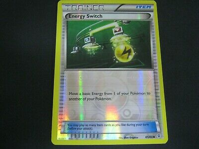 Pokemon Card Generations Holo Number 61 ENERGY SWITCH