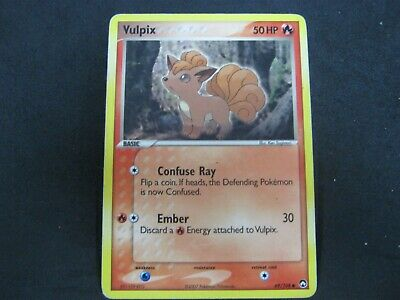 Pokemon Card Ex Power Keepers Number 69 VULPIX
