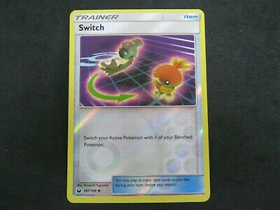 Pokemon Card Celestial Storm Holo SWITCH Number 147