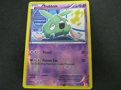 Pokemon Card (1) Dragons Exalted Holo Number 53 TRUBBISH