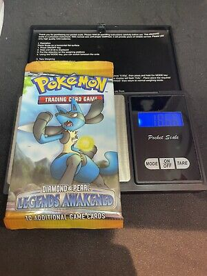 Pokemon Diamond And Pearl Legends Awakened Booster Pack Sealed (Lucario)
