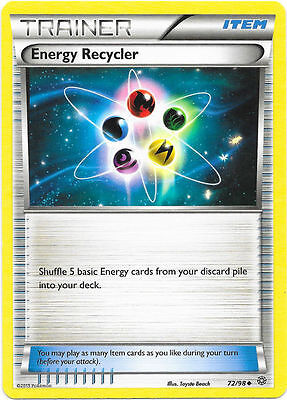 Energy Recycler 72/98 - Xy Ancient Origins Pokemon Trainer Card - In Stock