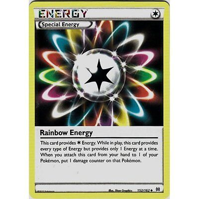 Rainbow Energy 152/162 Xy Breakthrough Pokemon Special Energy Card Mint