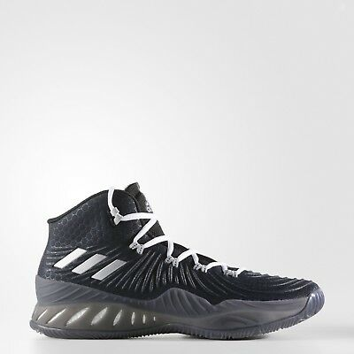 adidas Crazy Explosive 2017 Men s Size 9-12 Basketball Shoes Black Grey  BW0985 20cf02f91