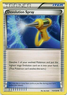 Devolution Spray 113/124 B&W Dragons Exalted RUncommon PERFECT MINT! Pokemon