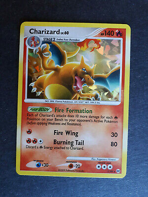 2009 Pokemon Platinum Arceus Cracked Ice HOLO CHARIZARD Lv.60 #1/99 NM/Mint