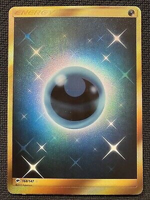 Pokemon Burning Shadows Darkness Energy 168/147- SECRET RARE.