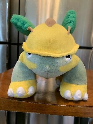 Pokemon Plush 2007 Jakks Pacific Diamond And Pearl Grotle Talking Electronic