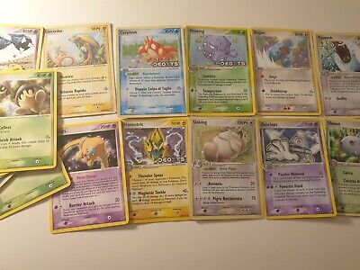 107 Pokémon Ex Deoxys Set ENG ITA Carte Pokemon Card Rare 2005 no Charizard GX V