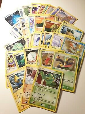 106 Pokémon Ex Emerald  ENG Set Carte Pokemon Rare Card 2005 no Charizard GX V