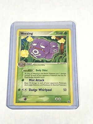 Weezing 33/113 EX Delta Species Rare Pokemon Card - Near Mint Condition NM