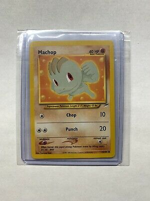 Pokemon Neo Destiny - Machop 73/105 - Common- NM/M Condition