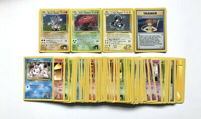 Pokemon Cards Gym Heroes -2000 - Rare - Holo - Nr Mint - You Choose -  /132