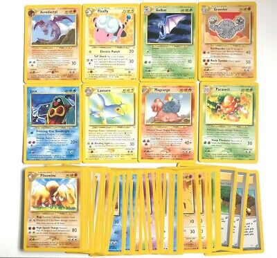 Pokemon Cards Holo - Rare - Neo Revelation - WOTC - 1-64 - You Choose - NM -2001