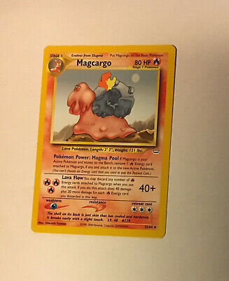 Pokemon Card Neo Revelation Magcargo 33/64