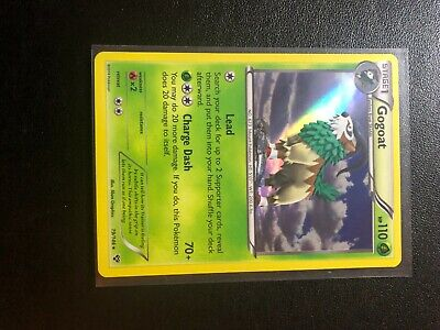 Low Pop - Gogoat #19/146 - 2014 Pokemon Card XY Base Set - Holo Rare