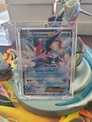 Pokemon Ash-Greninja EX Holo Promo (XY133) Played with Hard Case