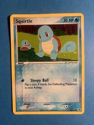 Squirtle Reverse Holo 82/112  Pokemon Ex FireRed & LeafGreen 2004 PSA