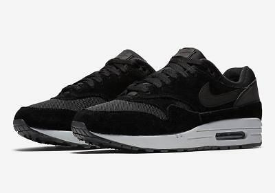"973204ffa82 (AH8145-006) Nike Air Max 1 ""Reflective Heel"" Men s Black US"