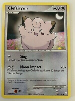 Clefairy 2007 Diamond & Pearl Set Pokemon Card NM 77/130 Official